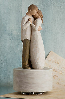Willow Tree Promise Musical Figurine The Promise of Love Susan Lordi  26457