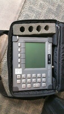 Anritsu S331 Site Master Cable and Antenna Analyzer