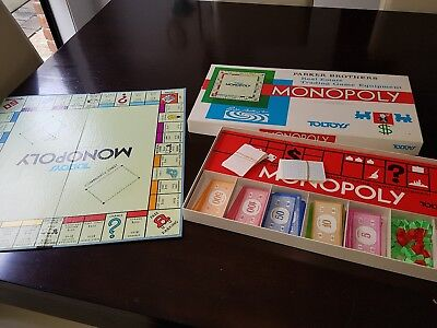VINTAGE MONOPOLY toltoys parker brothers