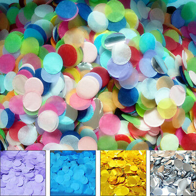 Confetti Flame Biode Tissue 2.5cm Round Paper Throwing Wedding Party Home Décor