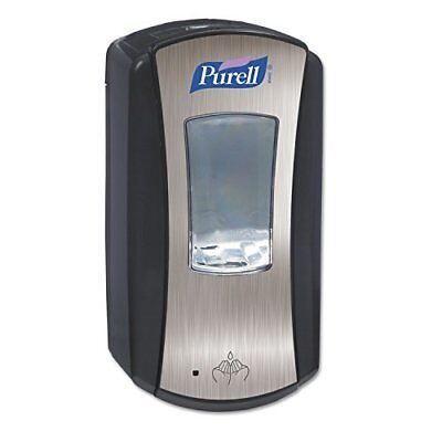 PURELL 192804 LTX-12 Touch-Free Dispenser, 1200mL, Black