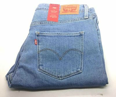 Genuine Levis 721 Original Women Ladies Skinny High Rise Jeans Vintage Blues