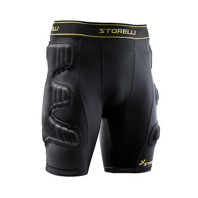 BodyShield Goal Keeper Compression Shorts Soccer Football Protective
