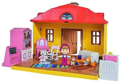 Masha 'Masha And The Bear House' Playset (Multi-Colour)