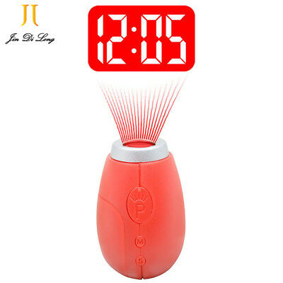 New Portable Mini Projection Clock, for LED Wall or Ceiling Projection,Travel