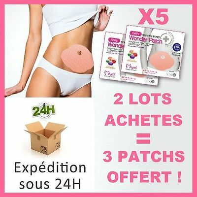 5 Patchs Type Wrap It Works Amincissant Naturel Et Raffermissant Maigrir Minceur