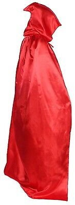 Long Halloween Cape For Adults Hooded Cloak Witch Robe With Cap Deak Cloak 225g