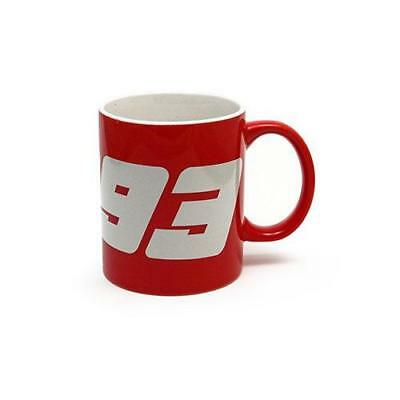 Marc Marquez 93 Red Mug, with Handle and White Inside