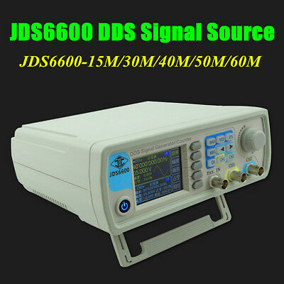2017 JDS6600 DDS Signal Source Dual Channel Arbitrary Wave Function Generator