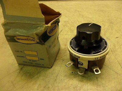 Memcor Type R-50 50 Watt Variable Ceramic Rheostat 3500 Ohm 0.12 A New In Box