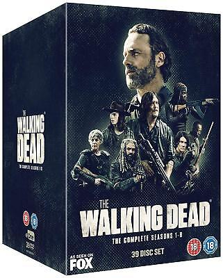 The Walking Dead The Complete Season 1 2 3 4 5 6 7 8 DVD Box Set 1 - 8