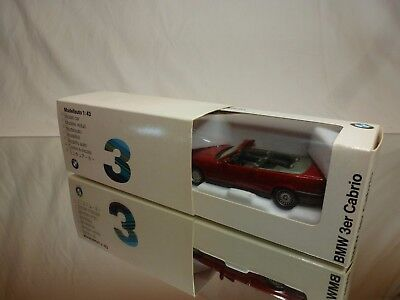 Solido Bmw 3 Series Convertible - E36 - Red 1:43 - Excellent In Dealer Box