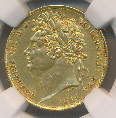MAKE AN OFFER! -- Great Britain GOLD Sovereign 1822 - NGC AU Details