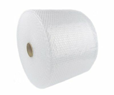 """Bubble + Wrap 3/16"""" 350 ft. x 12"""" Small Padding Perforated Shipping Moving Roll"""