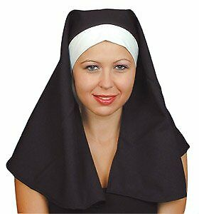 Hat Nun Head Dress Imported for Fancy Dress Party Accessory