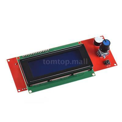 2004 LCD Display Screen Smart Controller W/ Cable For RAMPS1.4 Reprap 3D Printer