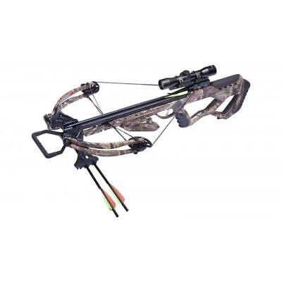 New Crosman CenterPoint Tormentor 370 Crossbow Kit, Camo AXCT185CK
