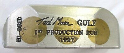 Tad Moore Golf TAD Hi-Brid Putter Milled 1997 1st Production Run Component Head