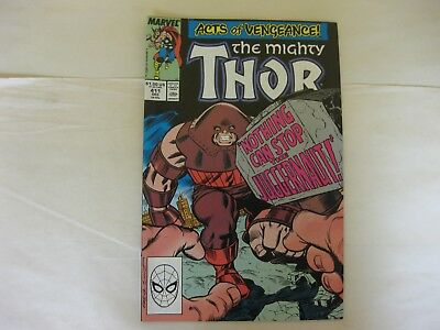 THE MIGHTY THOR #'s 411 AND 412 SET - 1st APPEARANCE OF THE NEW WARRIORS - VF/NM