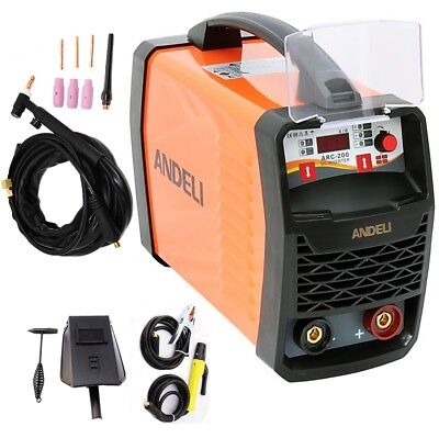 200Amp Mma/Arc/Stick/Lift Tig Igbt Dc Inverter Welder Duty Cycle 60% + Tig Torch