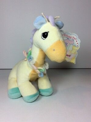 NEW Tender Tails Plush Beanie Giraffe Stuffed Animal 600210 Precious Moments NOS