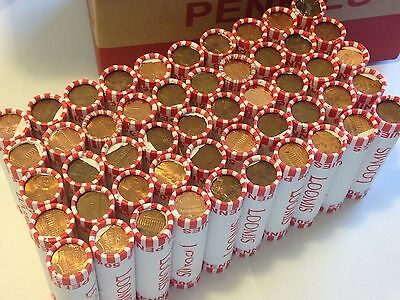 (1) UNSEARCHED ROLL OF PENNIES - May Be Some cherrys wheats oldies copper erorrs