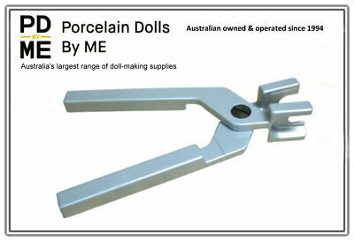 "Plastic Doll Armature Pliers - 1/8"" size made of solid aluminium"