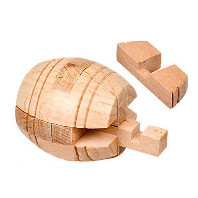 Educational 3D Wooden Puzzles Beer Barrel Lock Game Toys for Adults Kids Gift