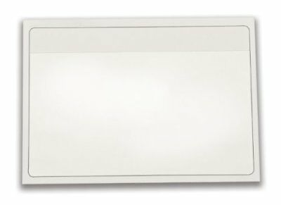 Cardinal HOLDit! Self-Adhesive 3 x 5-Inch Index Card Pockets, Clear, 100 per...