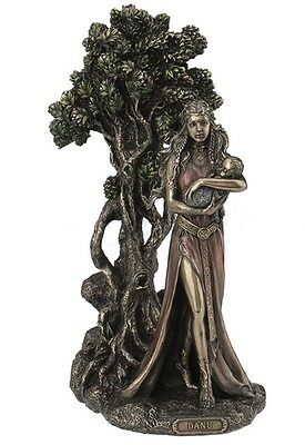 "11.5"" Danu - Mother Of The Tuatha De Danann Irish Goddess Celtic Statue Decor"