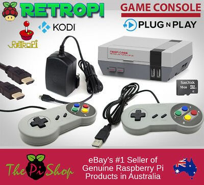 RetroPie Game Console + KODI with new NES Pi Case! Nintendo SNES Raspberry Pi 3