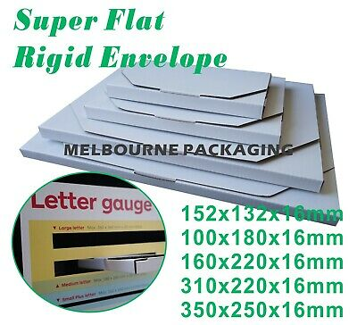 16mm(Height) SuperFlat Large Letter Size Mailing Box Rigid Envelope Mailers