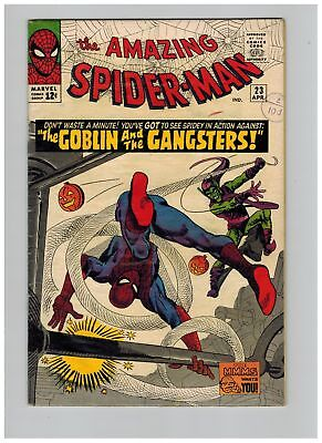Amazing Spider-man (1963) #  23 (4.5-VG+) GREEN GOBLIN (170482)