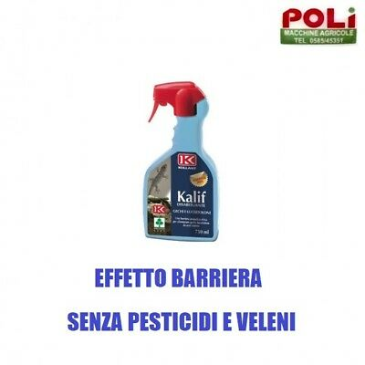 Disabituante Repellente Kalif Gechi E Lucertole Allontana Senza Uccidere 750Ml