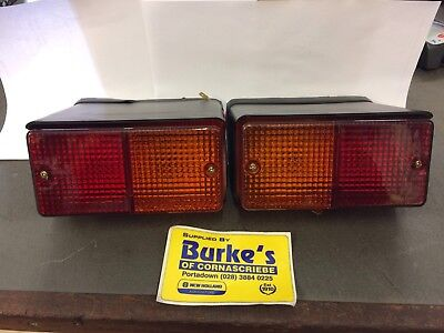 2x Ford Q Cab Tractor Rear Combination Tail Lamp Left Hand & Right Hand