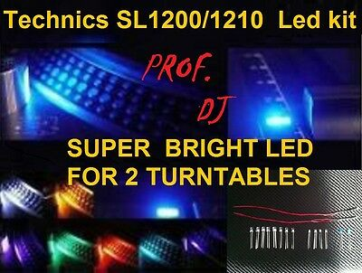 TECHNICS 1200 / 1210 KIT LED EXTRA BRIGHT (for 2 turntables)