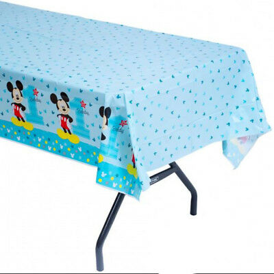 Mickey Mouse 1st Birthday Party Supplies Supplies Table Cover 54 X