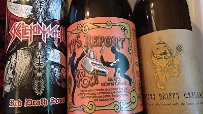 Collectible Beer Bottles Tired Hands Trinity Three Floyds 3F Sour Saison
