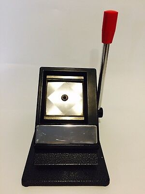 Brand New Brand New Table Top Passport ID Photo Die Cutter Punch 2 X 2 Inch