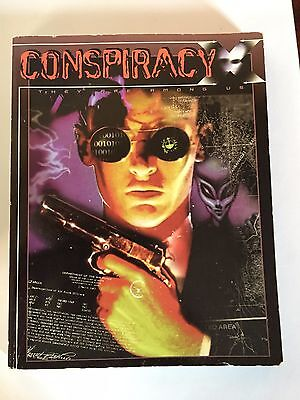 Conspiracy X RPG Rules