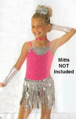 Dance With Me #2 Costume LEOTARD and FRINGED SKIRT ONLY Clearance Child X-Small