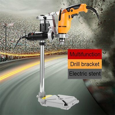 Drill Stand For Hand Held Electric Drills Rotary Mounting Press Pillar Bench Pm