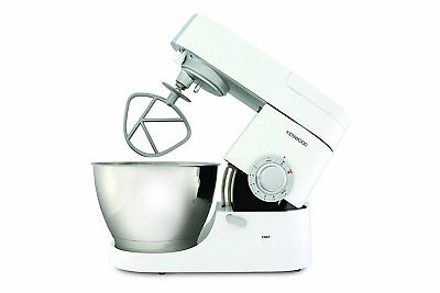 Kenwood Chef Food STAND MIXER 1000W 4.6L Stainless Bowl Beater Dough Hook Whisk