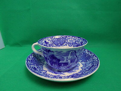 George Jones & Sons Abbey Huge Cup & Saucer