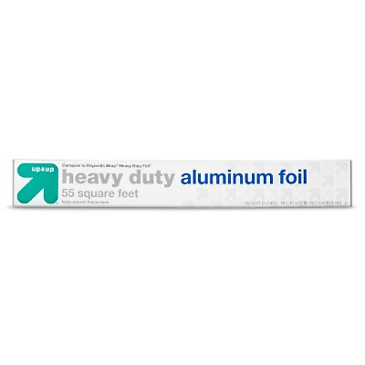 Up & Up Heavy Duty Aluminum Foil - Roll of 55 Square Feet (10 Pack of Rolls)