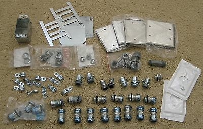 Huge Lot of New Electrical Switches, Connectors, Couplers, Plate Covers, Clamps