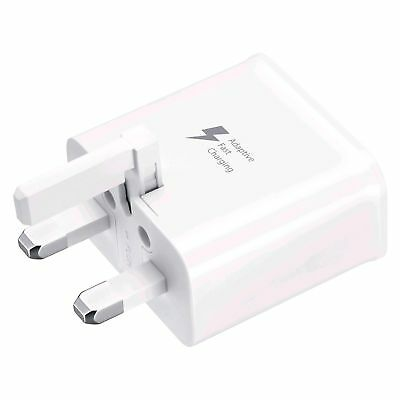 Fast UK Wall Charger Plug For Samsung Galaxy S7 EDGE S7 S8 S6 Original Charging