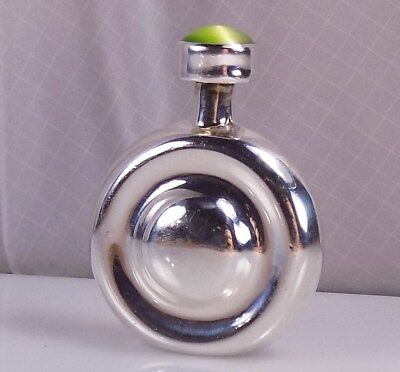 Fabulous Vintage Sterling Silver Th-88 Perfume Bottle  Free S/h #5022