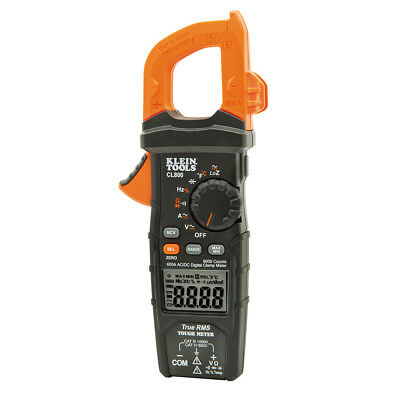 Klein Tools CL800 Digital Auto-Ranging AC/DC 600A Clamp Meter