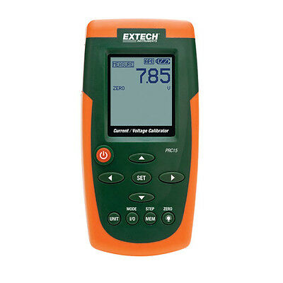 Extech PRC15-NIST Current and Voltage Calibrator/Meter w/NIST Cal.